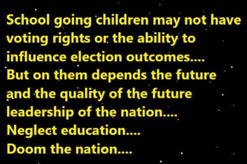 neglect education